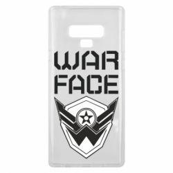 Чохол для Samsung Note 9 Напис Warface