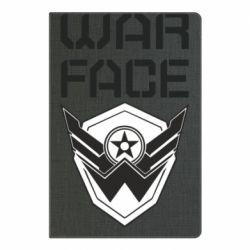 Блокнот А5 Напис Warface