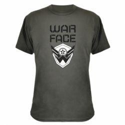 Камуфляжна футболка Напис Warface