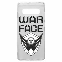 Чохол для Samsung S10+ Напис Warface