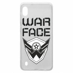 Чохол для Samsung A10 Напис Warface