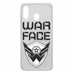 Чохол для Samsung A20 Напис Warface