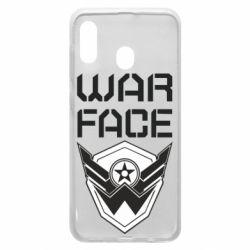 Чохол для Samsung A30 Напис Warface
