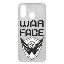 Чохол для Samsung A40 Напис Warface