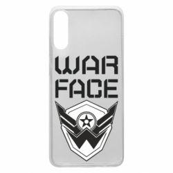Чохол для Samsung A70 Напис Warface
