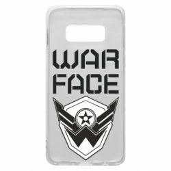 Чохол для Samsung S10e Напис Warface