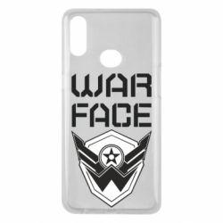 Чохол для Samsung A10s Напис Warface