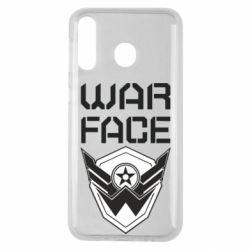 Чохол для Samsung M30 Напис Warface