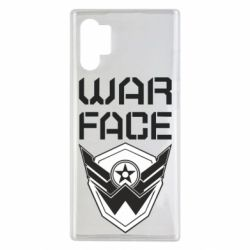 Чохол для Samsung Note 10 Plus Напис Warface