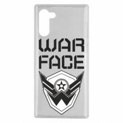 Чохол для Samsung Note 10 Напис Warface
