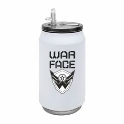 Термобанка 350ml Напис Warface