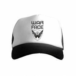Дитяча кепка-тракер Напис Warface