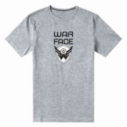 Чоловіча стрейчева футболка Напис Warface