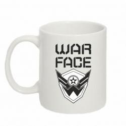 Кружка 320ml Напис Warface