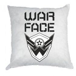 Подушка Напис Warface