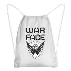 Рюкзак-мішок Напис Warface