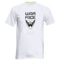 Чоловіча спортивна футболка Напис Warface