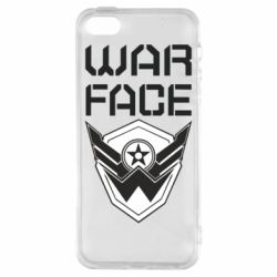 Чохол для iphone 5/5S/SE Напис Warface