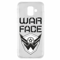 Чохол для Samsung A6 2018 Напис Warface