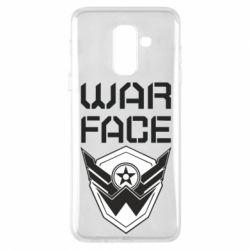 Чохол для Samsung A6+ 2018 Напис Warface