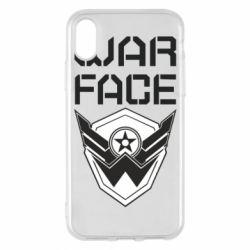 Чохол для iPhone X/Xs Напис Warface