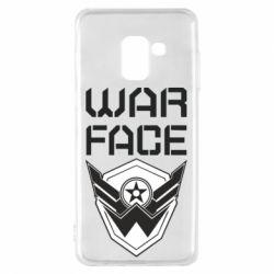 Чохол для Samsung A8 2018 Напис Warface