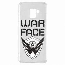 Чохол для Samsung A8+ 2018 Напис Warface