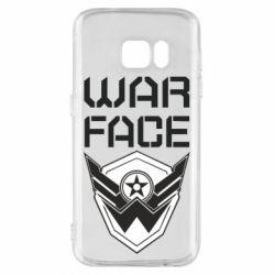 Чохол для Samsung S7 Напис Warface