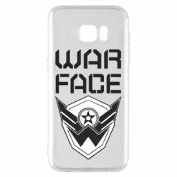 Чохол для Samsung S7 EDGE Напис Warface