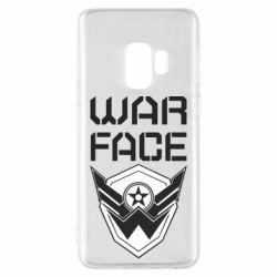 Чохол для Samsung S9 Напис Warface