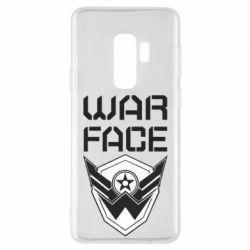 Чохол для Samsung S9+ Напис Warface