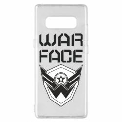 Чохол для Samsung Note 8 Напис Warface