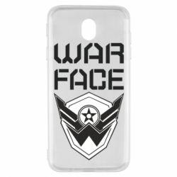 Чохол для Samsung J7 2017 Напис Warface