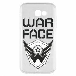 Чохол для Samsung A7 2017 Напис Warface