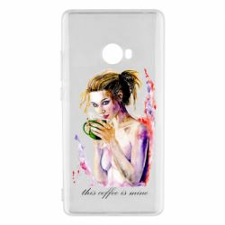 Чехол для Xiaomi Mi Note 2 Naked girl with coffee
