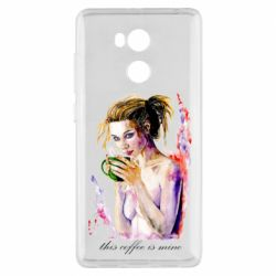 Чехол для Xiaomi Redmi 4 Pro/Prime Naked girl with coffee
