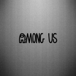 Наклейка Among Us Logo