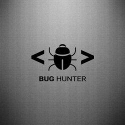 Наклейка Bug Hunter