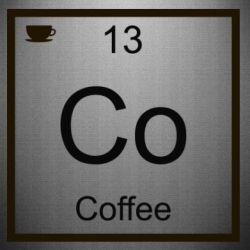 Наклейка Co coffee