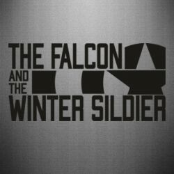 Наклейка Falcon and winter soldier logo