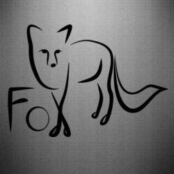 Наклейка Fo vector