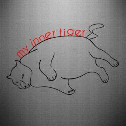 Наклейка My inner tiger