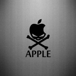 Наклейка Pirate Apple