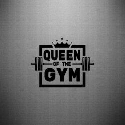 Наклейка Queen Of The Gym