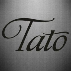 Наклейка Tato