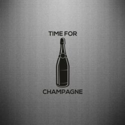 Наклейка Time for champagne