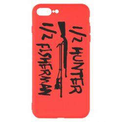 Чехол для iPhone 7 Plus Наполовину охотник, наполовину рыбак
