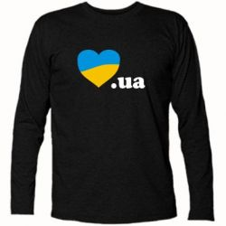 Футболка с длинным рукавом Народився в Україні - FatLine