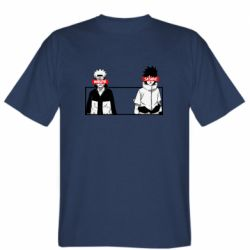 Мужская футболка Naruto and Sasuke