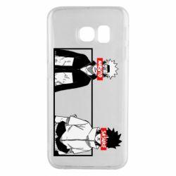 Чехол для Samsung S6 EDGE Naruto and Sasuke